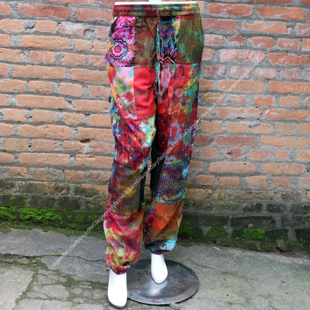 ladies-patchwork-hippies-tiedye-print-trouser